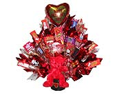 VCB12 ''Hearts Galore'' (Gift Bouquet) in Oklahoma City OK, Array of Flowers & Gifts