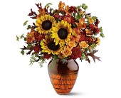 Teleflora's Amber Glow Bouquet in New Britain CT, Weber's Nursery & Florist, Inc.