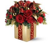 Teleflora's Holiday Gift Bouquet in Orlando FL, Elite Floral & Gift Shoppe
