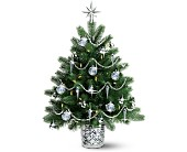 Teleflora's Galway Crystal Christmas Tree in North Las Vegas NV, Betty's Flower Shop, LLC