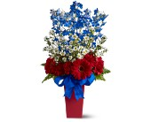 Freedom Fireworks Bouquet in Bedford IN, Bailey's Flowers & Gifts