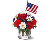 Freedom Bouquet by Teleflora in Oshkosh WI, Flowers & Leaves LLC