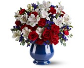 Sweet Liberty Bouquet in San Clemente CA, Beach City Florist