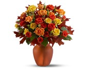 Amber Roses in flower shops MD, Flowers on Base