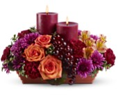 Bordeaux by Candlelight in Largo FL, Rose Garden Florist