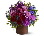 Teleflora's Plum Gorgeous in Latrobe PA, Floral Fountain