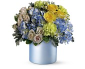 Teleflora's Heavenly Hues Bouquet in Dubuque IA, New White Florist