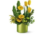 Teleflora's Citrus Sunshine Bouquet in Dubuque IA, New White Florist