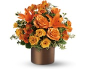 Teleflora's Sunset Glow in flower shops MD, Flowers on Base