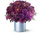 Teleflora's Vivid Violet Bouquet in Liverpool NY, Creative Florist