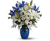 Blue Horizons by Petals & Stems in Dallas TX, Petals & Stems Florist