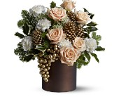 Teleflora's Golden Vineyards in Dubuque IA, New White Florist