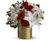 Teleflora's 24 Karat Bouquet in Columbus OH, OSUFLOWERS .COM