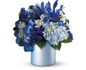 Teleflora's Blue Blooms in San Clemente CA, Beach City Florist
