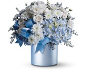 Teleflora's Baby Blue in San Clemente CA, Beach City Florist