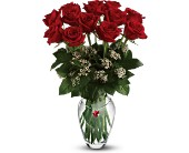 Teleflora's Ruby Heart Bouquet in San Clemente CA, Beach City Florist