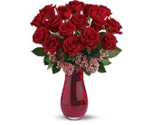 Teleflora's Elegant Love Bouquet in Valley City OH, Hill Haven Farm & Greenhouse & Florist