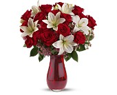 Teleflora's Elegant Love Bouquet - Deluxe in Valley City OH, Hill Haven Farm & Greenhouse & Florist