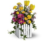 Teleflora's Picket Fence Bouquet in San Juan PR, De Flor's Flowers & Gifts