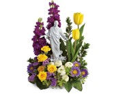 Teleflora's Sacred Grace Bouquet in Warner Robins GA, Sharron's Flower House & Whimsey Manor
