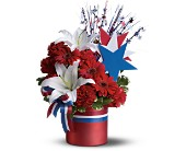Vote Red Bouquet in Jamison PA, Mom's Flower Shoppe