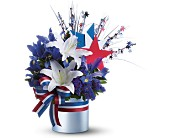 Vote Blue Bouquet in San Clemente CA, Beach City Florist