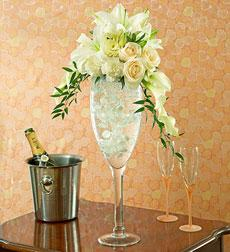 Champagne Wishes in Burlington NJ, Stein Your Florist