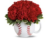 Teleflora's Play Ball Bouquet in Watertown NY, Sherwood Florist