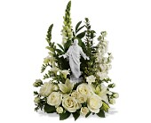 Teleflora's Garden of Serenity Bouquet in Bismarck, North Dakota, Dutch Mill Florist, Inc.