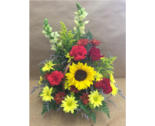 Autumn Glory Basket in Port St Lucie FL, Flowers By Susan