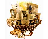 Golden Celebration Gift Basket in Coraopolis PA, Suburban Floral Shoppe