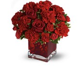 Teleflora's Precious Love - Deluxe with Red Roses in Salt Lake City UT, Especially For You