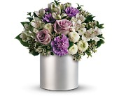 Teleflora's Silver Mist Bouquet in Miami Beach, Florida, Abbott Florist