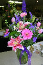 Debbie's Spring Arrangement in Memphis TN, Debbie's Flowers & Gifts