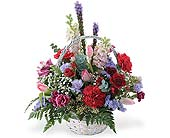 Loving Thoughts Basket in Big Rapids MI, Patterson's Flowers, Inc.
