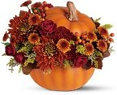 Teleflora's Prize Pumpkin Bouquet in Etobicoke ON, Rhea Flower Shop