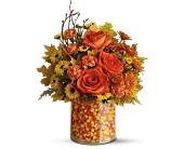 Teleflora's Candy Corn Surprise Bouquet in Latrobe PA, Floral Fountain