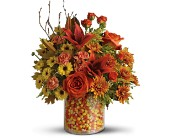 Teleflora's Candy Corn Surprise Bouquet - Deluxe in Latrobe PA, Floral Fountain