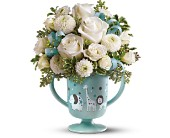 MiGi's Baby Circus Bouquet by Teleflora - Blue in Aston PA, Wise Originals Florists & Gifts