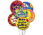 Get Well Balloon Bunch in Laurel MD, Rainbow Florist & Delectables, Inc.