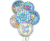 It's a Boy Balloon Bunch in Laurel MD, Rainbow Florist & Delectables, Inc.