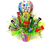 CB270 ''Thanks For All You Do'' Candy Bouquets in Oklahoma City OK, Array of Flowers & Gifts