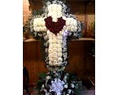Cross with Heart in Staten Island NY, Eltingville Florist Inc.