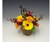 Glassybaby Arrangement in Kirkland WA, Fena Flowers, Inc.
