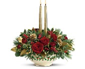 Lenox Holly-Day Bouquet by Teleflora, picture