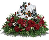 Thomas Kinkade's Sleigh Ride Bouquet by Teleflora in Park Ridge IL, High Style Flowers