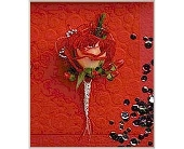 Red Rose Jewel Boutonniere in Smyrna GA, Floral Creations Florist