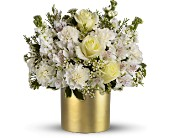 Teleflora's Champagne & Gold in Aston PA, Wise Originals Florists & Gifts