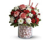 Teleflora's Holiday Surprise Bouquet in Latrobe PA, Floral Fountain