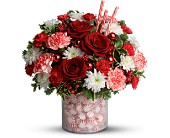 Teleflora's Holiday Surprise Bouquet - Deluxe in Latrobe PA, Floral Fountain
